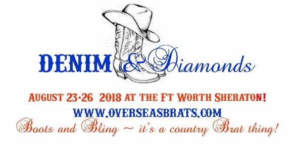 Overseas Brats Fort Worth Gathering, August 23-26, 2018, Fort Worth, Texas