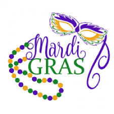 Wear Mardi Gras Colors at Overseas Brats Homecoming 2019, in New Orleans LA, Aug 15-18, 2019